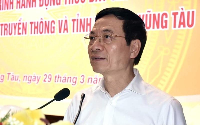 Bài nói chuyện về chuyển đổi số của Bộ trưởng Nguyễn Mạnh Hùng tại hội nghị Chuyển đổi số Bà Rịa – Vũng Tàu