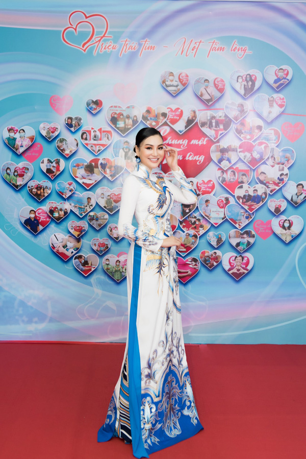 Doanh nhân Trần Huyền Nhung hưởng ứng sự kiện 'Chung một tấm lòng'