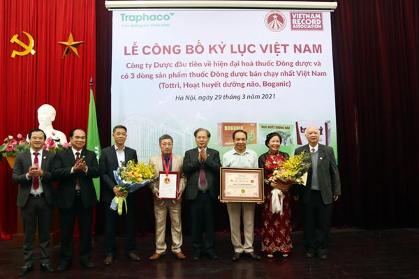 Traphaco xác lập kỷ lục Việt Nam về thuốc Đông dược