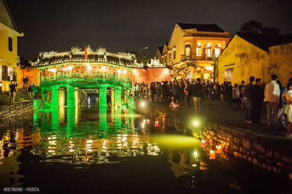 A center of spiritual tourism in central Vietnam