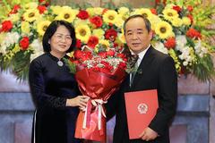 Trao quyết định bổ nhiệm ông Lê Khánh Hải làm Chủ nhiệm Văn phòng Chủ tịch nước