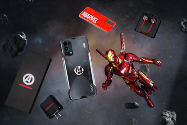 Đập hộp Reno5 phiên bản Marvel mới ra mắt tại Việt Nam