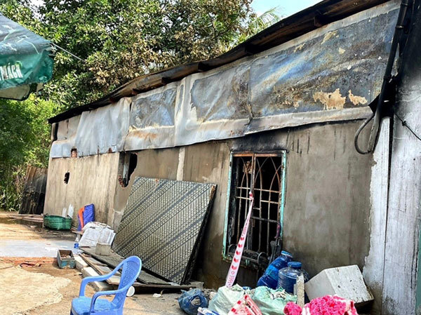 Two-month-old baby among six dead in house fire in HCM City's Thu Duc City