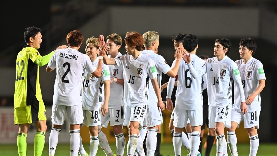 Japan won the match 14-0 in the World Cup qualifier