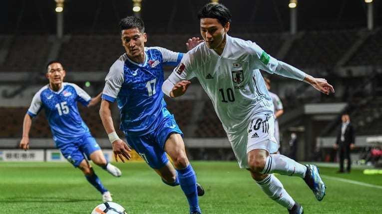 Nhật Bản thắng trận 14-0 ở vòng loại World Cup