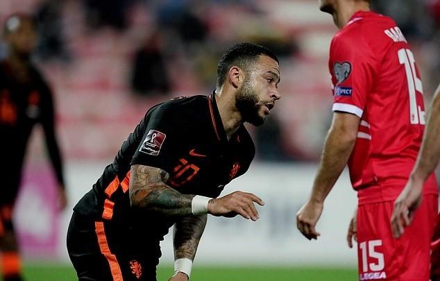 Van de Beek lập công, Hà Lan thắng trận 7-0