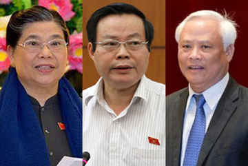 Miễn nhiệm 3 Phó Chủ tịch Quốc hội trong chiều nay