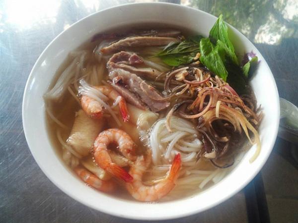 Bun nuoc leo, the pride of Soc Trang Province