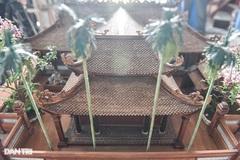 Đình làng từ gỗ gụ nhỏ nhất Việt Nam, giá nào cũng không bán