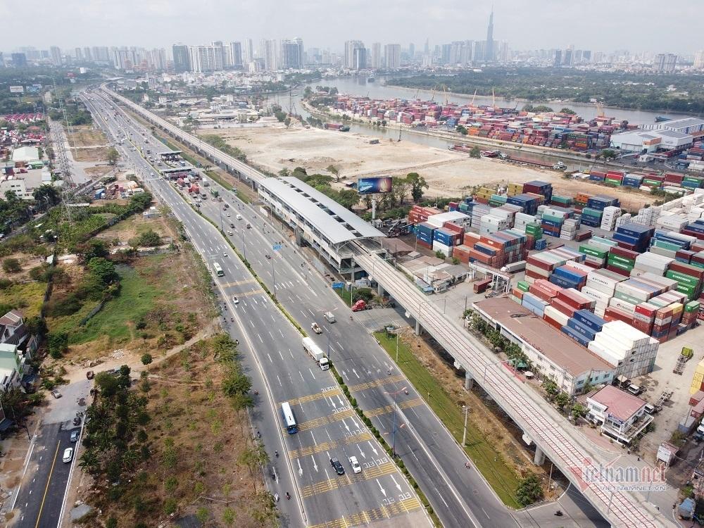 Toàn cảnh xa lộ hơn 4.900 tỷ ở cửa ngõ TP.HCM trước giờ thu phí