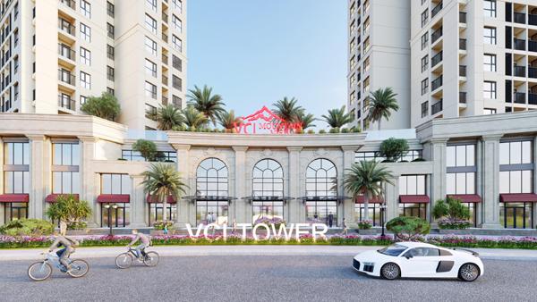 Đất Xanh Miền Bắc phân phối độc quyền shophouse khối đế VCI Tower