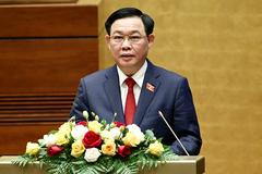 Lời thề của tân Chủ tịch Quốc hội Vương Đình Huệ khi nhậm chức