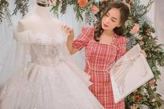 Váy cưới đính 80.000 viên pha lê của Mỹ Ngọc Bolero