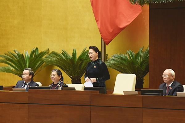 Bà Tòng Thị Phóng, ông Uông Chu Lưu và ông Phùng Quốc Hiển rời ghế Phó Chủ tịch Quốc hội
