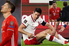 Bayern Munich nhận tin sét đánh, mất Lewandowski ở đại chiến PSG