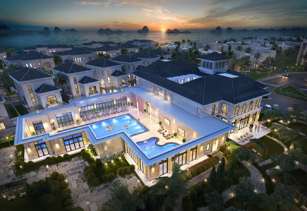 Grand Bay Townhouse - cơ hội hấp dẫn đầu tư nhà phố bên vịnh