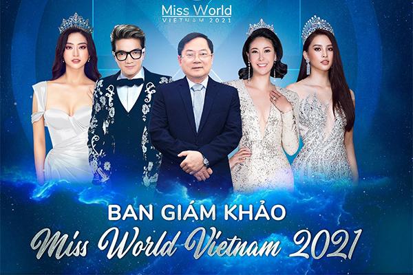 Đàm Vĩnh Hưng, Hà Kiều Anh làm giám khảo Miss World Vietnam 2021
