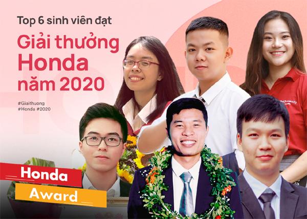 Hàng trăm sinh viên xuất sắc đạt Giải thưởng Honda 2020