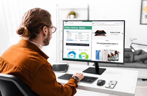 Làm việc, giải trí 'all-in-one' tại gia với màn hình Samsung M7 | M5