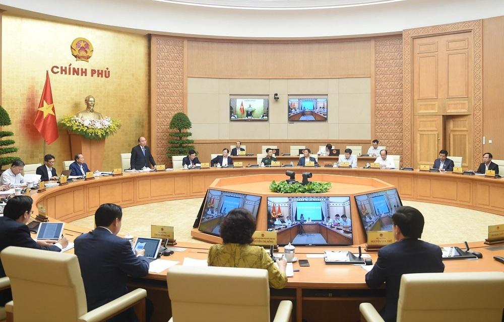 Thủ tướng Nguyễn Xuân Phúc  xúc động cảm ơn các thành viên Chính phủ