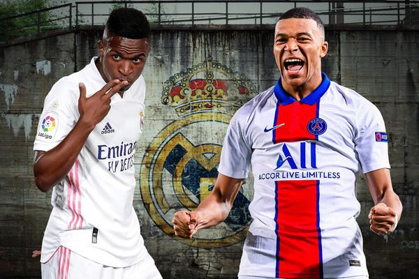 Real chi 165 triệu euro cùng Vinicius lấy Mbappe