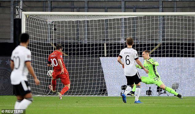 Đức thua sốc ở vòng loại World Cup