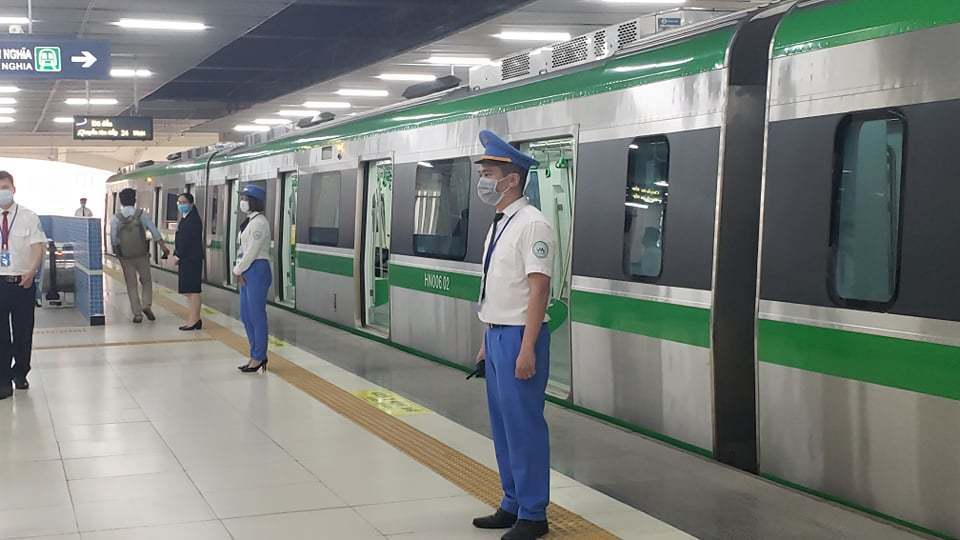 Cat Linh-Ha Dong urban railway to be handed over to Hanoi in May