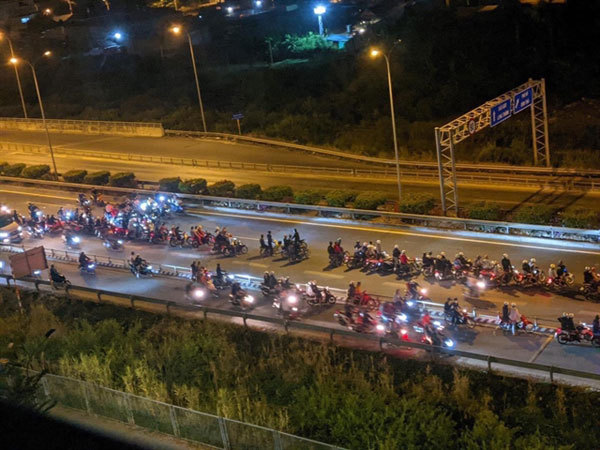 Traffic police to go undercover to fight illegal motorbike racing