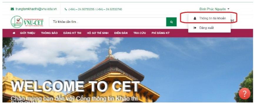 ĐH Quốc gia Hà Nội mở cổng đăng ký thi đánh giá năng lực