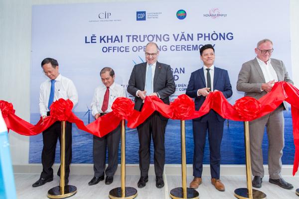 Khai trương văn phòng Dự án điện gió La Gàn ở TP Phan Thiết