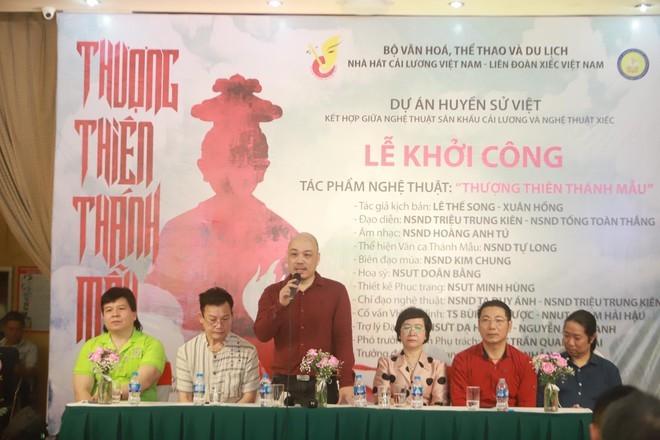 NSND Tự Long tham gia vở diễn về Mẫu Liễu Hạnh