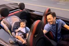 """Ngắm ô tô sang chảnh của """"rich kid"""" 6 tháng tuổi nhà Cường đô la"""