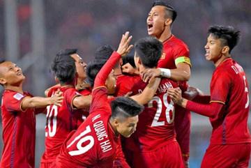 Vietnam climb three notches in FIFA rankings