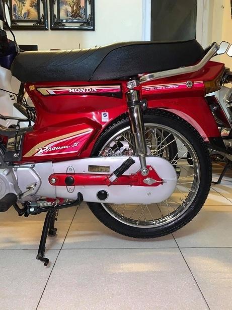 Honda Dream Thái đời 1997 biển tứ quý 9 độ 'zin' thêm 350 triệu