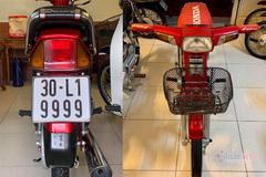 """Honda Dream Thái đời 1997 biển tứ quý 9 độ """"zin"""" thêm 350 triệu"""
