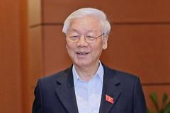 Quốc hội miễn nhiệm Chủ tịch nước đối với ông Nguyễn Phú Trọng