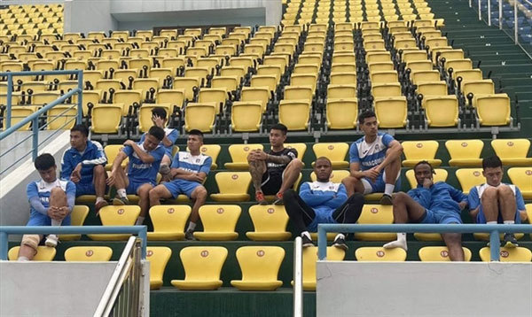 Than Quang Ninhplayers refuse to train over unpaid wages