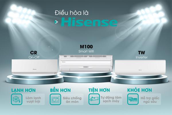 Điều hòa Hisense 'ghi điểm' với chỉ số làm lạnh vượt trội