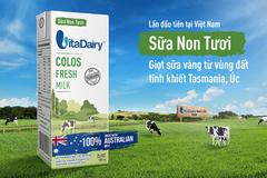 VitaDairy 'lấn sân' thị trường sữa tươi