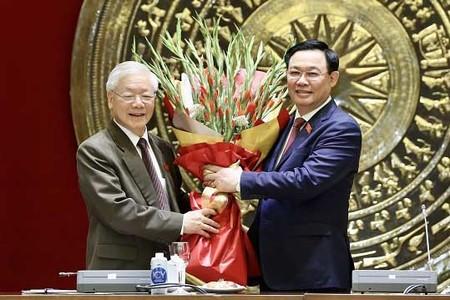 ĐBQH Hà Nội chúc mừng Tổng Bí thư hoàn thành nhiệm vụ Chủ tịch nước