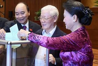 Số phiếu miễn nhiệm Chủ tịch nước, Thủ tướng, Chủ tịch Quốc hội