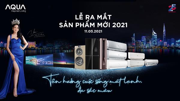 Aqua Việt Nam trình làng loạt sản phẩm thông minh mới năm 2021
