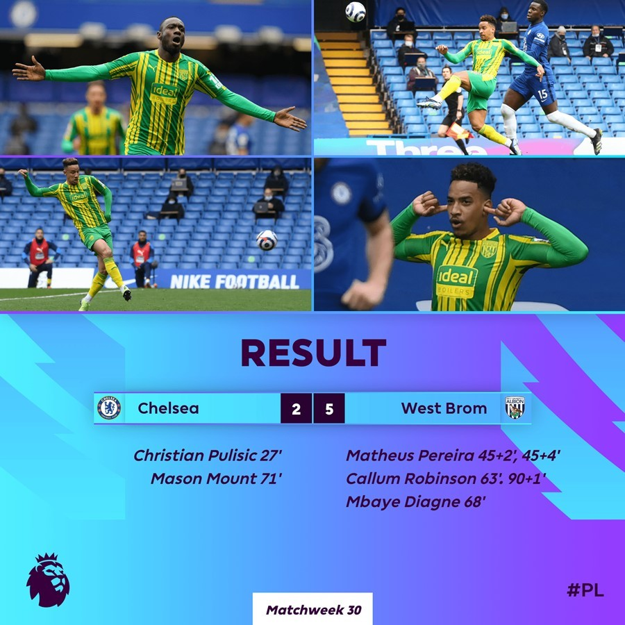 Chelsea,West Brom