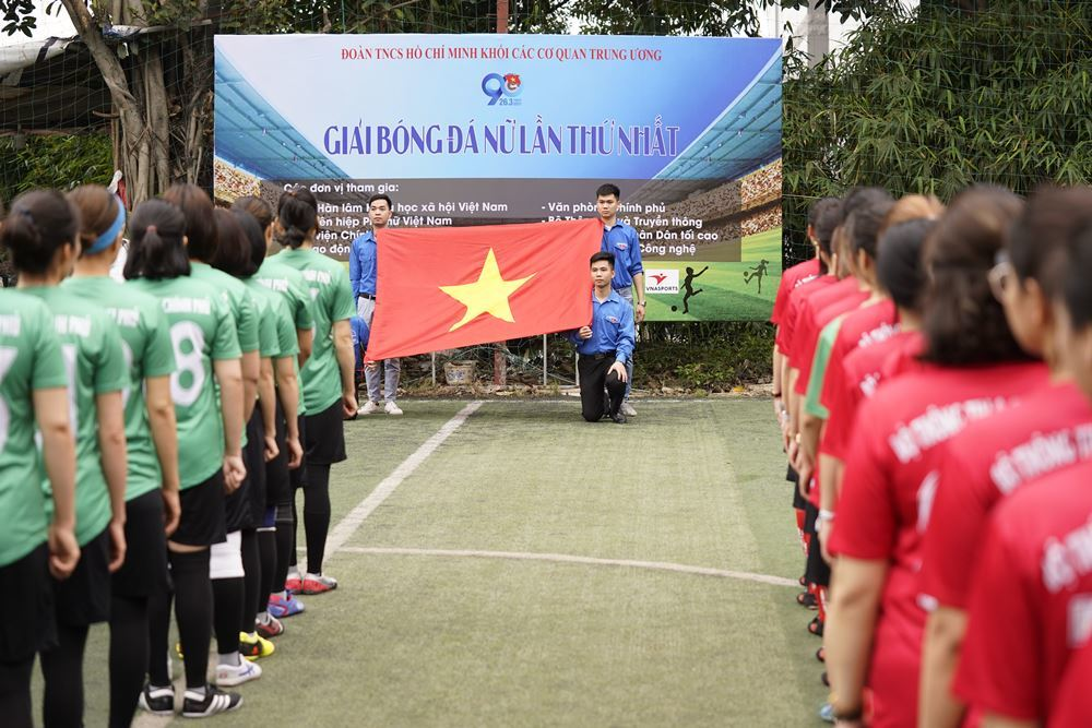 Giải bóng đá nữ Đoàn Khối các Cơ quan Trung ương lần thứ nhất