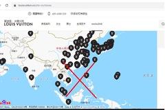 Nhiều nhãn hàng thời trang lớn ở Trung Quốc đăng bản đồ 'đường lưỡi bò'