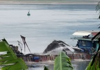 Illegal sand extraction rampant on Da River