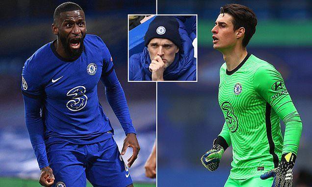 Cầu thủ Chelsea choảng nhau trên sân tập sau trận thua sốc