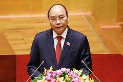 Ông Nguyễn Xuân Phúc: Vinh dự được tiếp nối thành quả từ Chủ tịch nước Nguyễn Phú Trọng