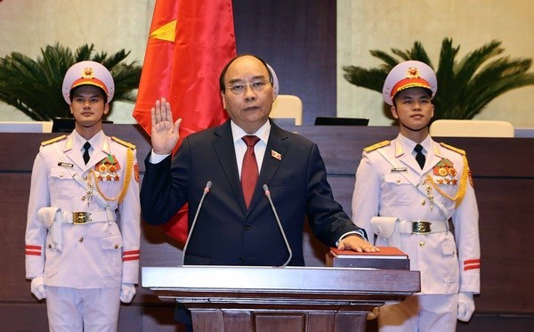 Nguyen Xuan Phuc elected as State President