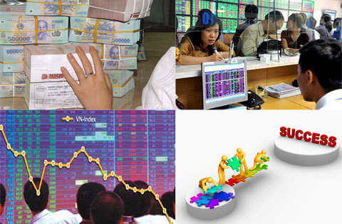 Prices surge on stock market, VN Index reaches record high